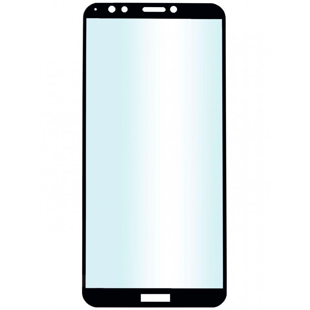 Защитное стекло для телефона skinBOX. 1 side full screen, для Huawei 7C Pro, цвет черный