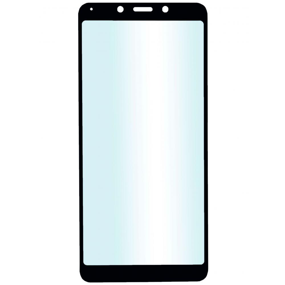 Защитное стекло для телефона skinBOX. 1 side full screen, для Xiaomi Redmi 6/6A, цвет черный