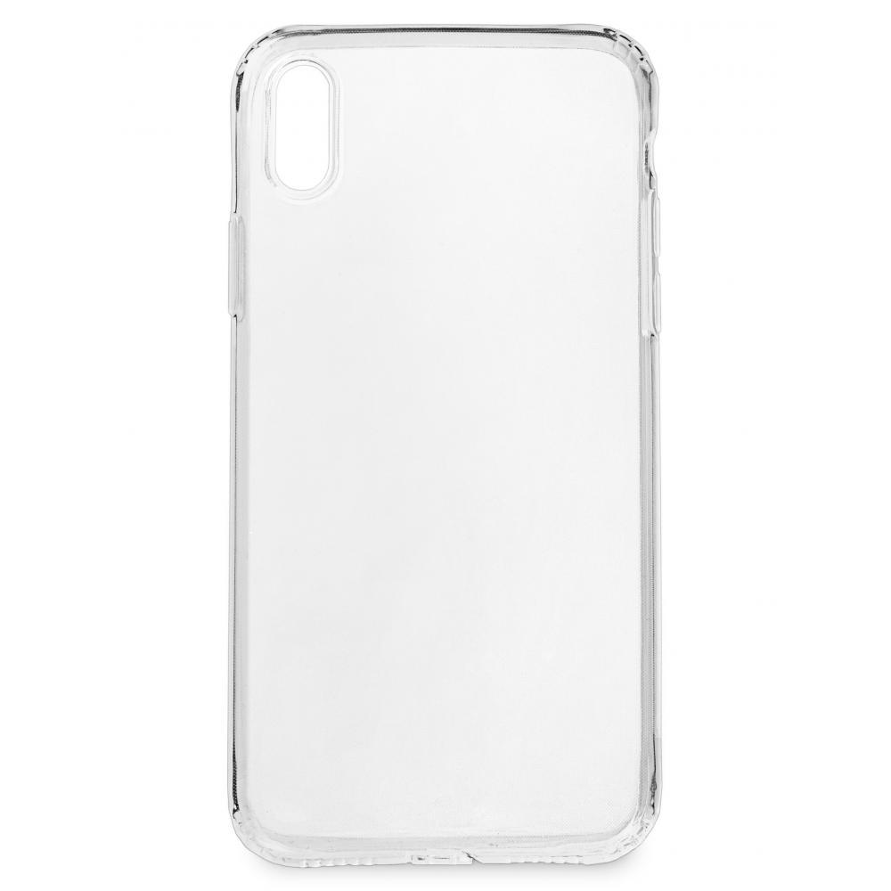 Силиконовый чехол для телефона skinBOX. Slim Silicone dustproof, для Apple iPhone X, цвет прозрачный