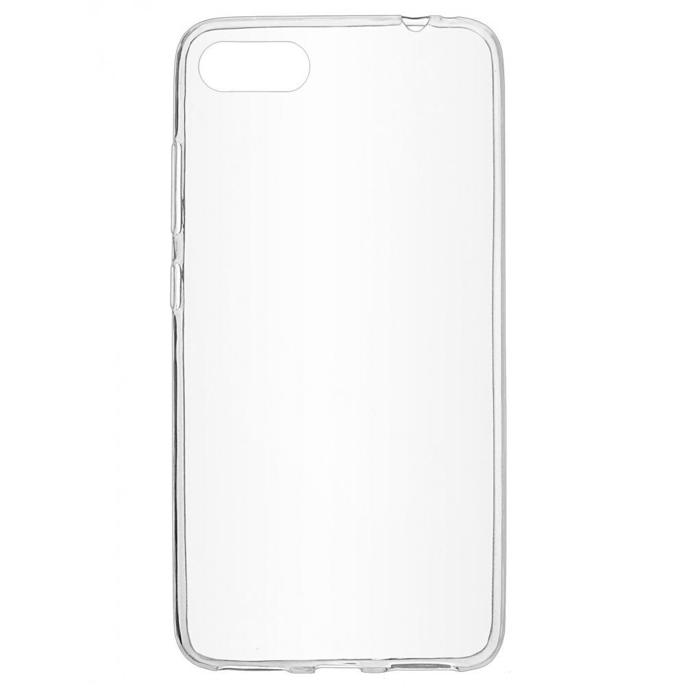 Силиконовый чехол для телефона skinBOX. Slim Silicone, Asus ZC554KL, цвет прозрачный