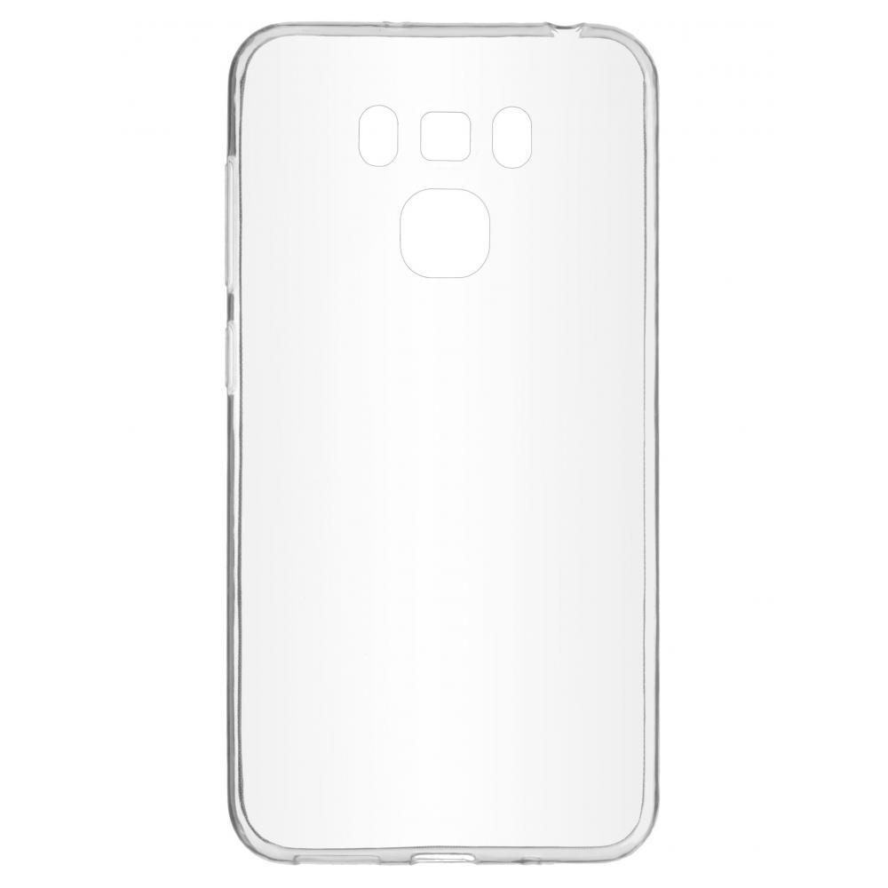 Силиконовый чехол для телефона skinBOX. Slim Silicone, для Asus ZC553KL, цвет прозрачный