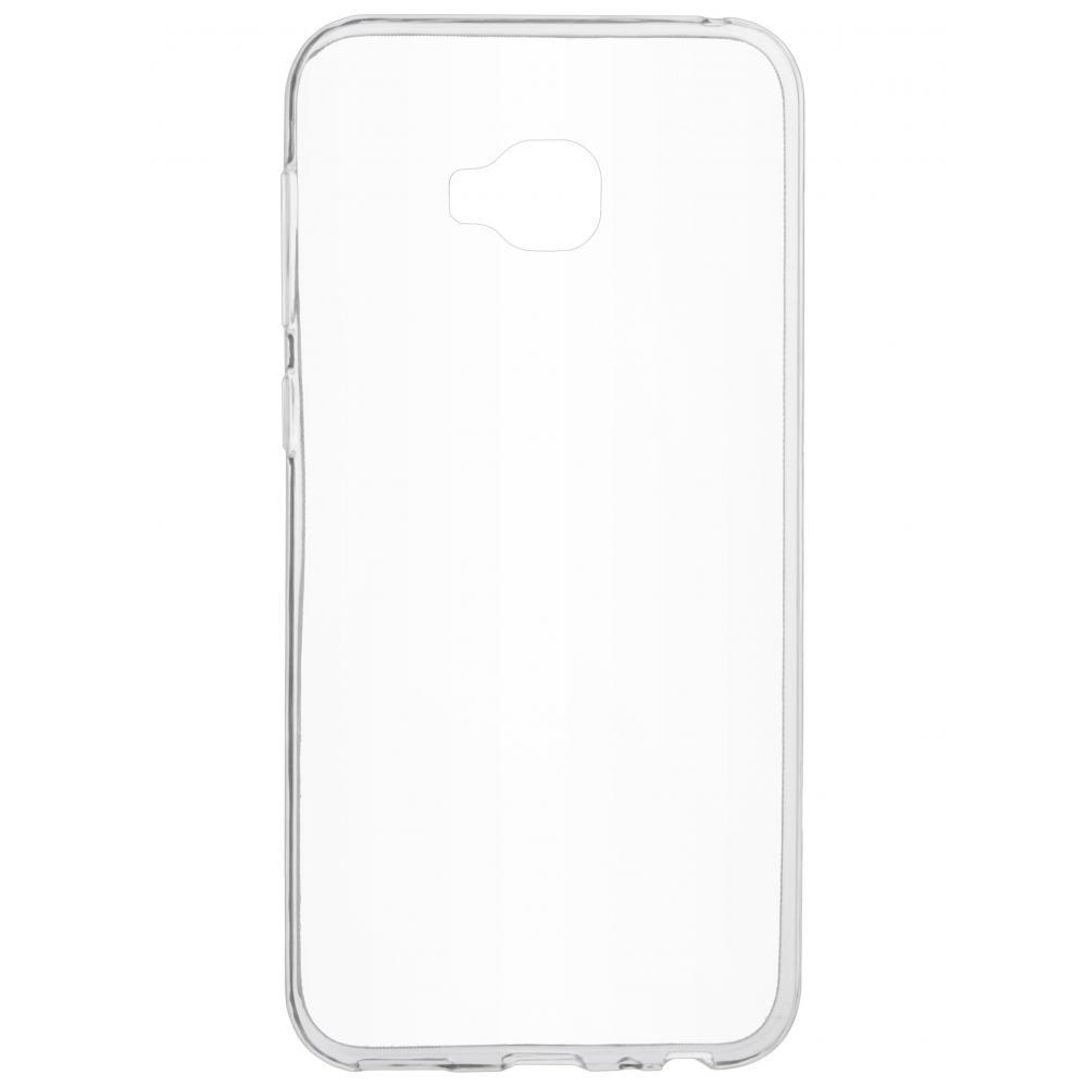 Силиконовый чехол для телефона skinBOX. Slim Silicone, для Asus ZD552KL, цвет прозрачный