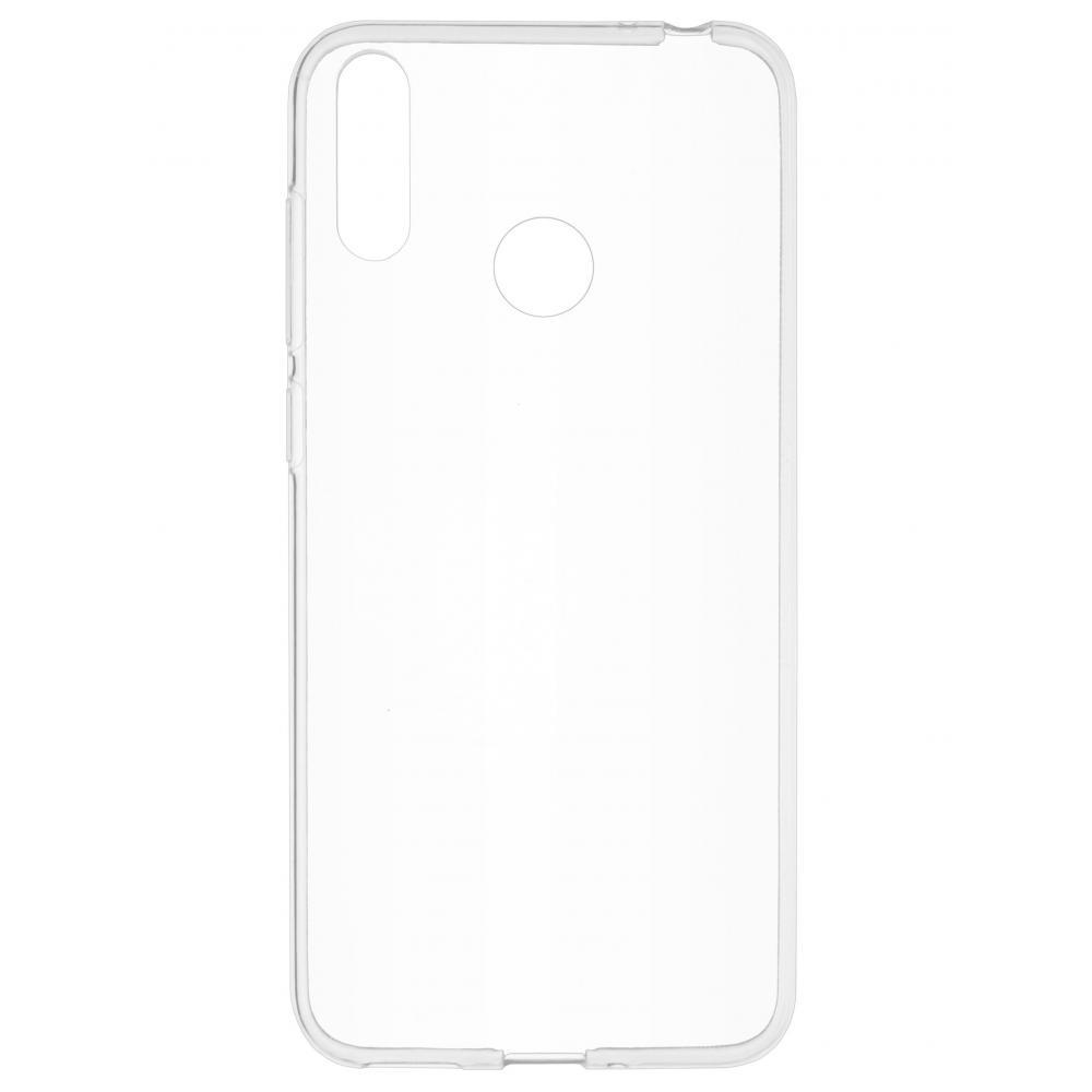 Силиконовый чехол для телефона skinBOX. Slim Silicone, для Huawei Honor 8C, цвет прозрачный