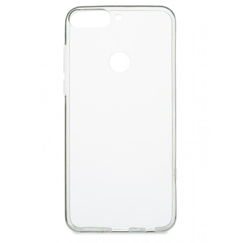 Силиконовый чехол для телефона skinBOX. Slim Silicone, для Huawei Honor 7C Pro, цвет прозрачный