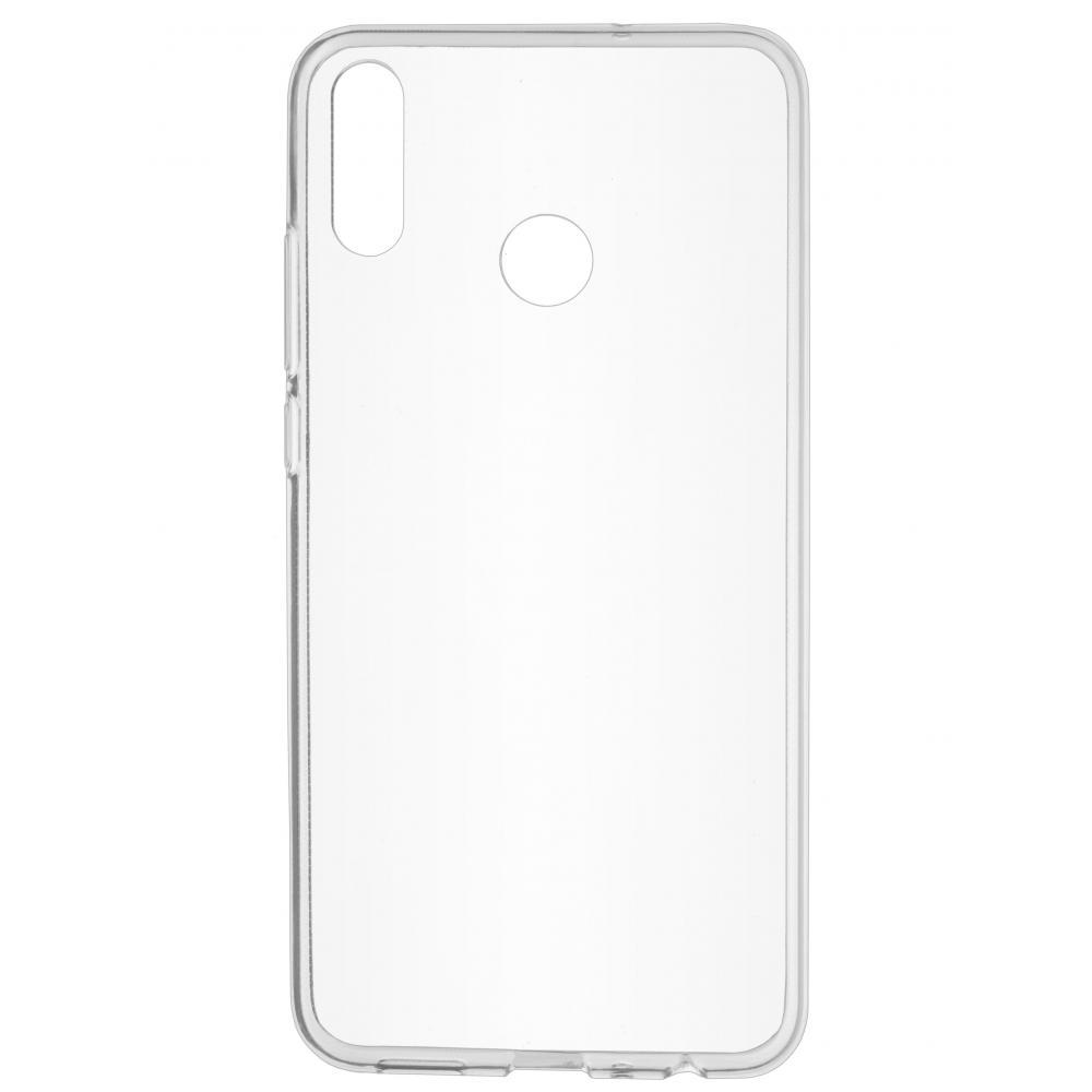 Силиконовый чехол для телефона skinBOX. Slim Silicone, для Huawei Honor 8X, цвет прозрачный