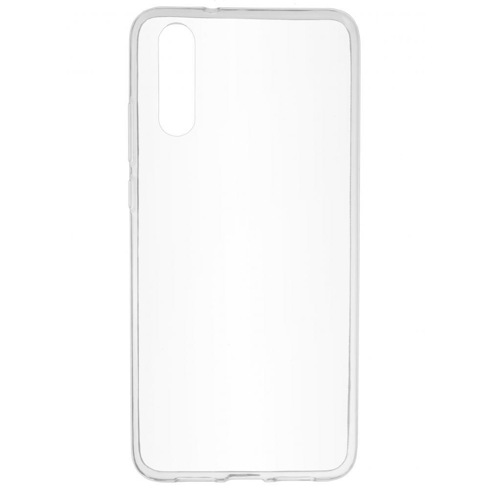 Силиконовый чехол для телефона skinBOX. Slim Silicone, для Huawei P20, цвет прозрачный
