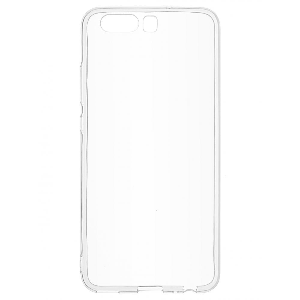 Силиконовый чехол для телефона skinBOX. Slim Silicone, для Huawei P10, цвет прозрачный