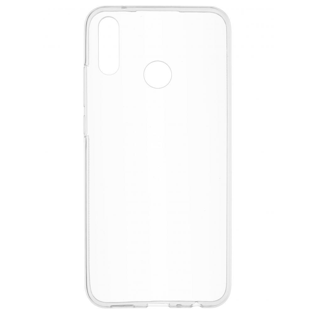 Силиконовый чехол для телефона skinBOX. Slim Silicone, для Huawei Y9 (2019), цвет прозрачный