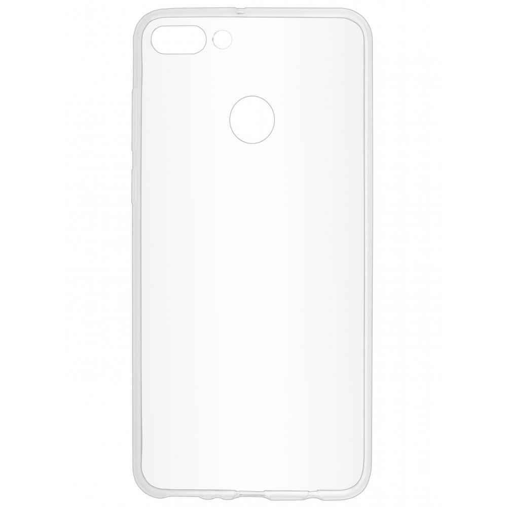 Силиконовый чехол для телефона skinBOX. Slim Silicone, для Huawei Y9 (2018), цвет прозрачный
