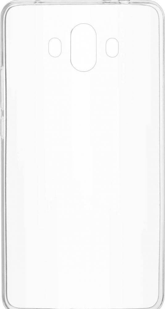 Силиконовый чехол для телефона skinBOX. Slim Silicone, для Huawei Mate 10, цвет прозрачный