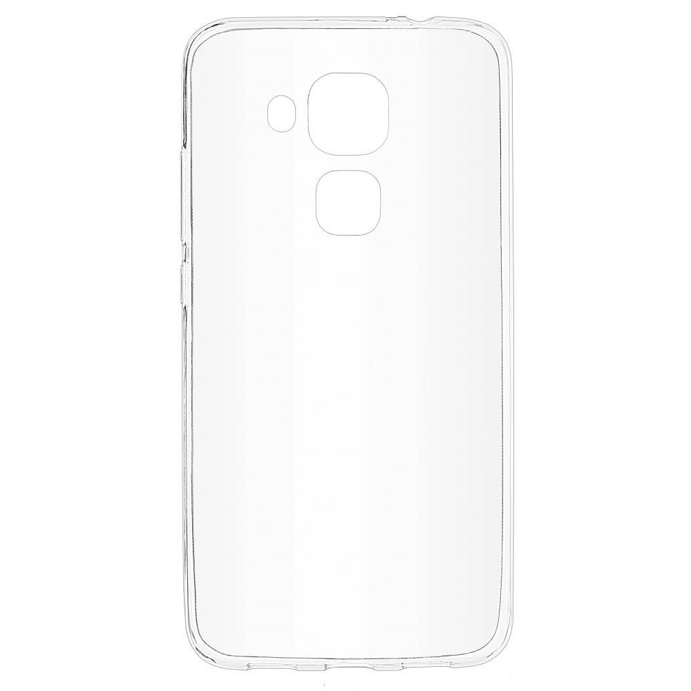 Силиконовый чехол для телефона skinBOX. Slim Silicone, для Huawei Nova Plus, цвет прозрачный