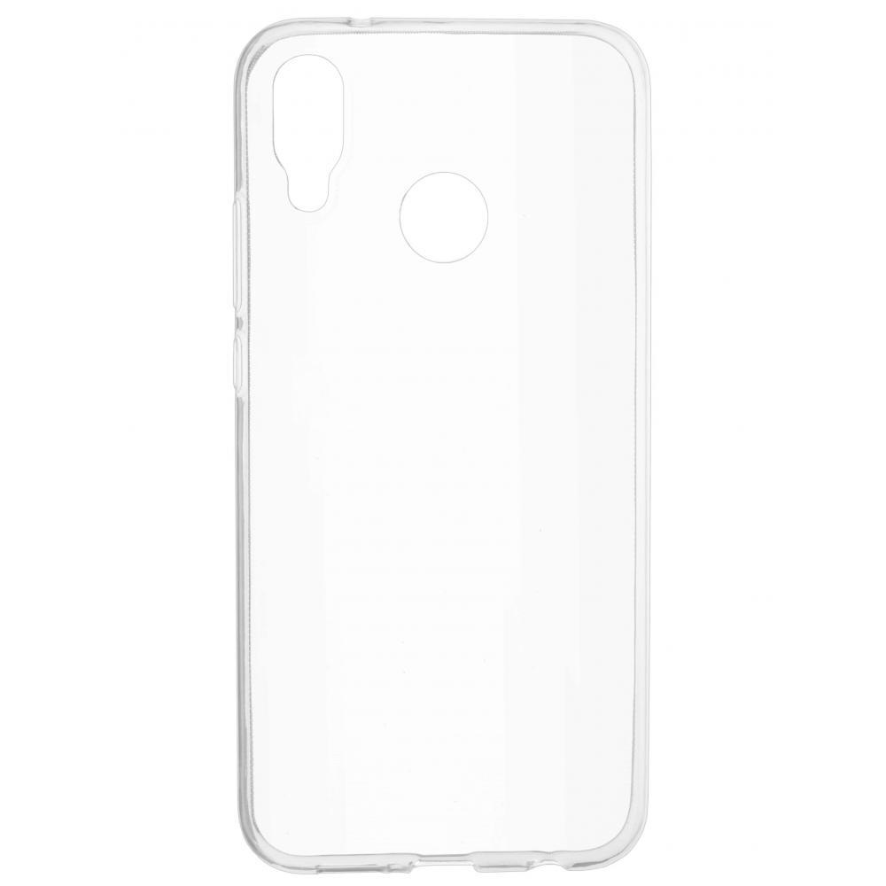 Силиконовый чехол для телефона skinBOX. Slim Silicone, для Huawei P20 Lite/Nova 3E, цвет прозрачный