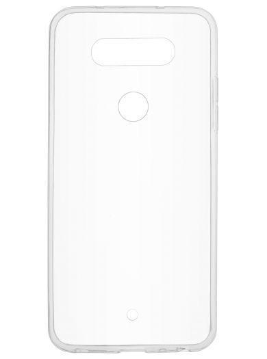 Силиконовый чехол для телефона skinBOX. Slim Silicone, для LG Q8, цвет прозрачный