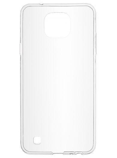 Силиконовый чехол для телефона skinBOX. Slim Silicone, для LG X Cam, цвет прозрачный