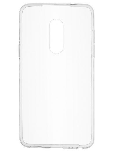 Силиконовый чехол для телефона skinBOX. Slim Silicone, для Meizu 15, цвет прозрачный