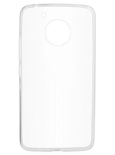 Силиконовый чехол для телефона skinBOX. Slim Silicone, для Motorolla Moto G5, цвет прозрачный