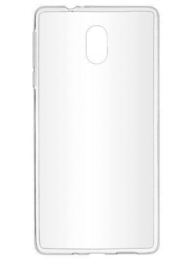 Силиконовый чехол для телефона skinBOX. Slim Silicone, для Nokia 3, цвет прозрачный