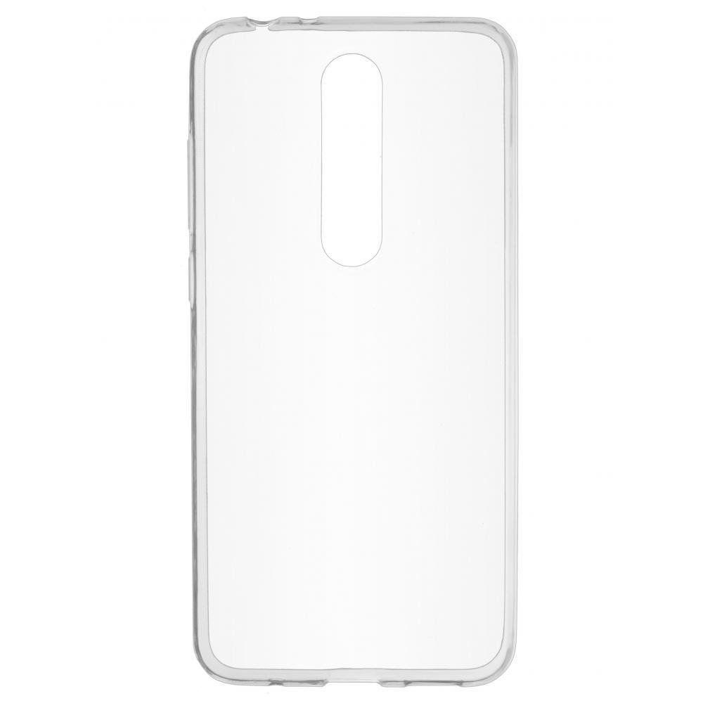 Силиконовый чехол для телефона skinBOX. Slim Silicone, для Nokia X5, цвет прозрачный