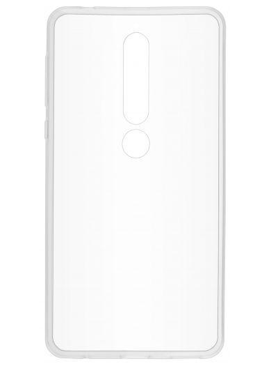 Силиконовый чехол для телефона skinBOX. Slim Silicone, для Nokia 6 (2018), цвет прозрачный