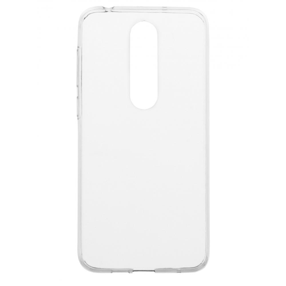 Силиконовый чехол для телефона skinBOX. Slim Silicone, для Nokia X6/6.1 Plus, цвет прозрачный