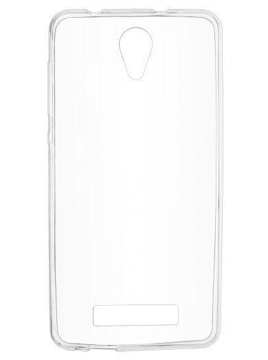 Силиконовый чехол для телефона skinBOX. Slim Silicone, для Philips S318, цвет прозрачный
