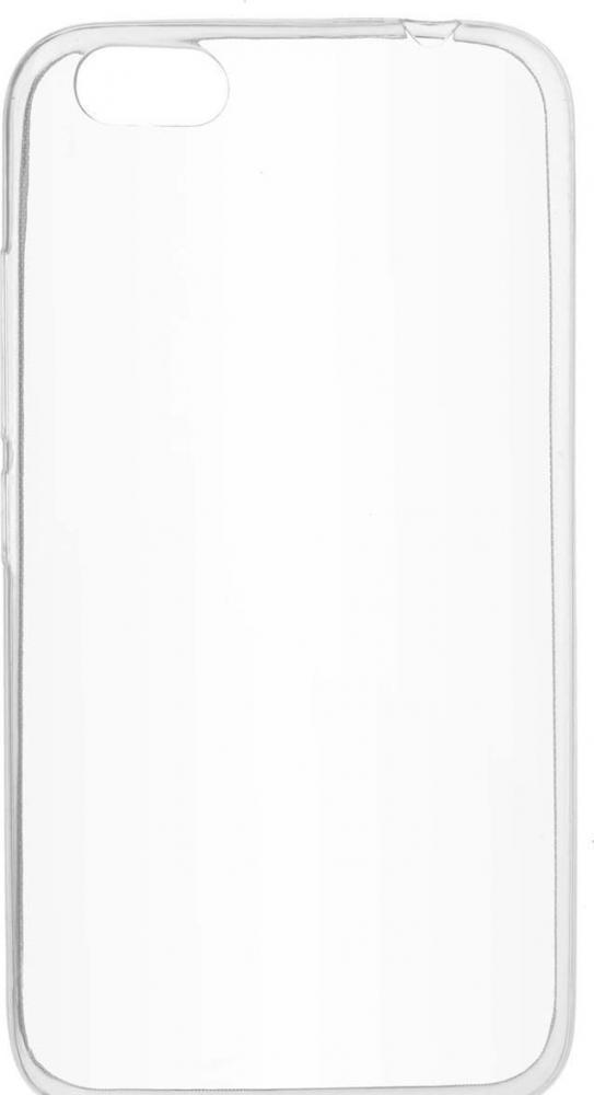 Силиконовый чехол для телефона skinBOX. Slim Silicone, для Prestigio Grace M5, цвет прозрачный