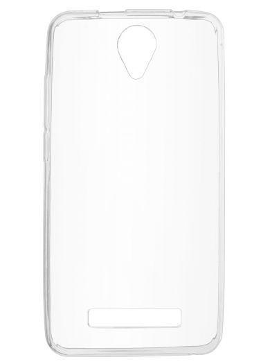 Силиконовый чехол для телефона skinBOX. Slim Silicone, для Prestigio Muze G3, цвет прозрачный