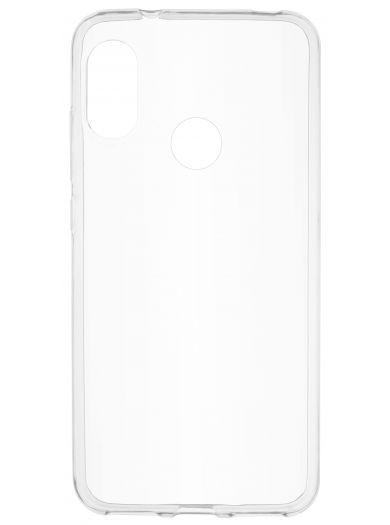 Силиконовый чехол для телефона skinBOX. Slim Silicone, для Xiaomi Redmi 6 Pro, цвет прозрачный