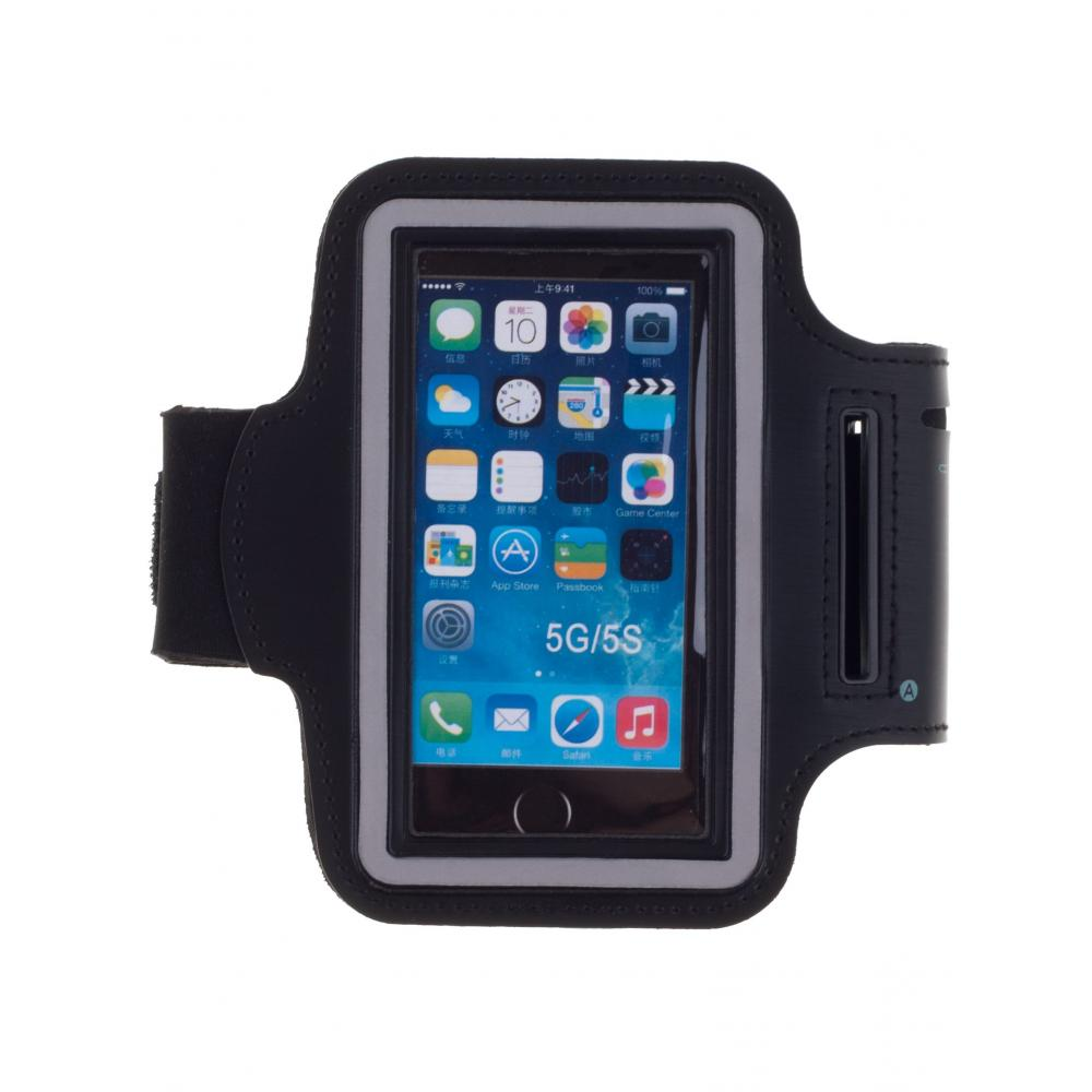 Чехол-книжка для телефона универсальный skinBOX. Sport case 4,5, цвет черный