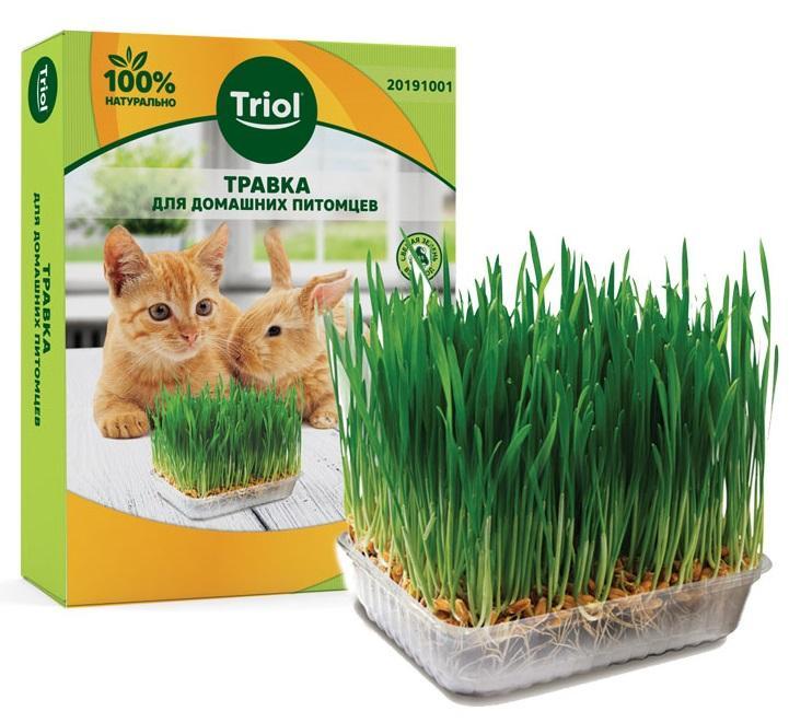 Травка для кошек и грызунов Triol