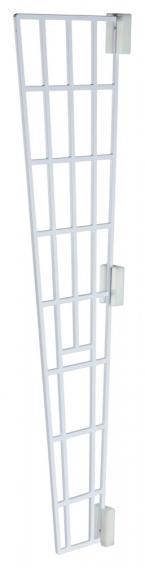 Защитные боковые решетки на откидные окна Trixie, белый