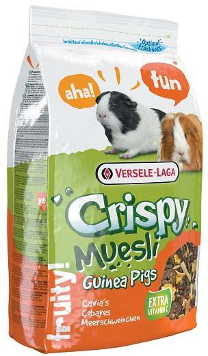 Корм для морских свинок Crispy Muesli Guinea Pigs с витамином С, 1 кг
