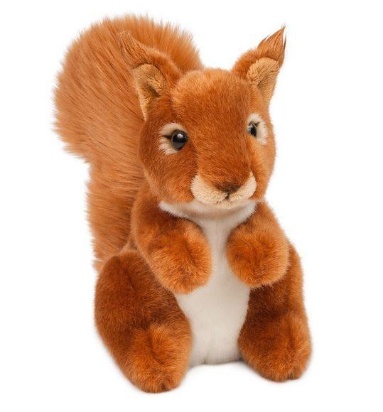 Мягкая игрушка Белочка, 18 см