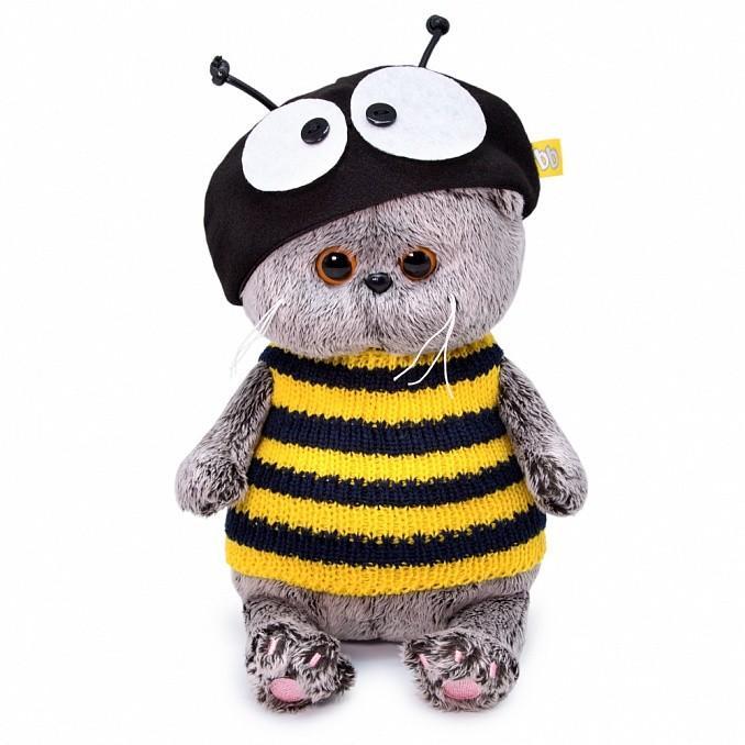 Мягкая игрушка Басик BABY, в костюме пчелки