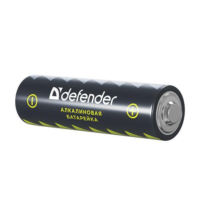 Батарейка Defender LR6-4F AA, алкалиновая, 4 штуки