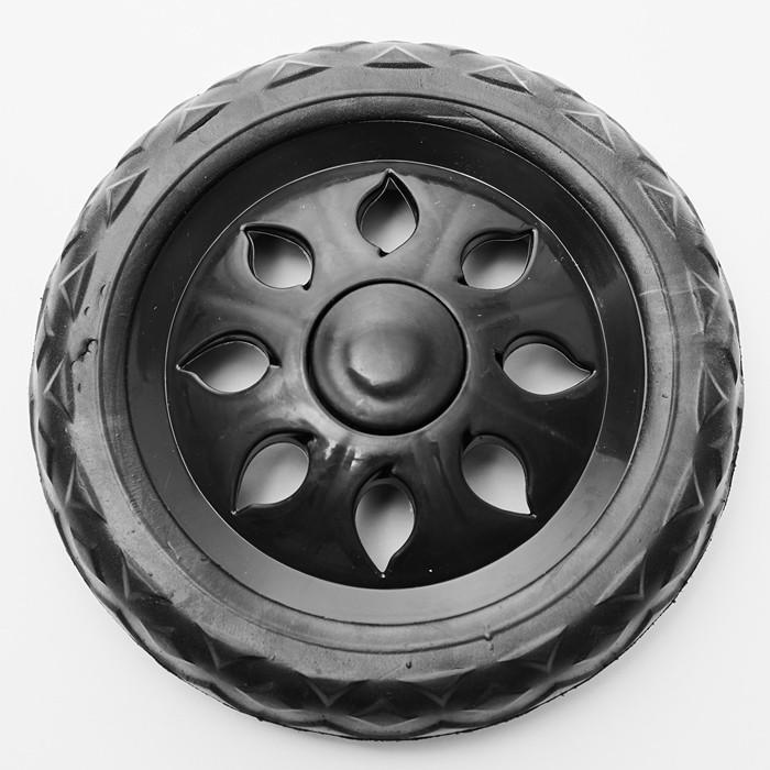 Колесо для багажной тележки (модели DT-20 и ТБР-20), диаметр 16 см