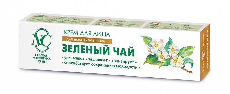 Крем Зеленый чай, 40 мл